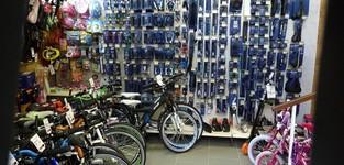 Rijwielen Henk Lievens - Onze winkel
